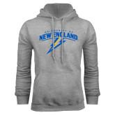 Grey Fleece Hoodie-University of New England