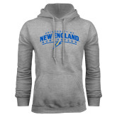 Grey Fleece Hoodie-University of New England Nor Easters