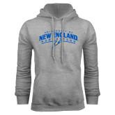 Grey Fleece Hoodie-University of New England Nor Easters