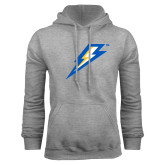 Grey Fleece Hoodie-Lightning Bolt