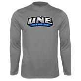 Syntrel Performance Steel Longsleeve Shirt-UNE Nor Easters