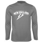 Performance Steel Longsleeve Shirt-University of New England