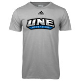 Adidas Climalite Sport Grey Ultimate Performance Tee-UNE Nor Easters