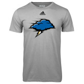 Adidas Climalite Sport Grey Ultimate Performance Tee-Cloud