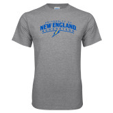 Grey T Shirt-University of New England Nor Easters