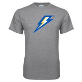 Grey T Shirt-Lightning Bolt