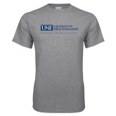 Grey T Shirt-University Mark Flat