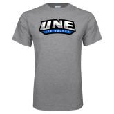 Grey T Shirt-Hockey