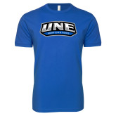 Next Level SoftStyle Royal T Shirt-UNE Nor Easters