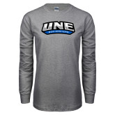 Grey Long Sleeve T Shirt-UNE Nor Easters