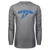 Grey Long Sleeve T Shirt-University of New England