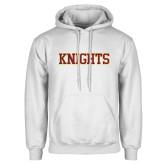 White Fleece Hoodie-Knights