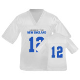 Youth Replica White Football Jersey-#12