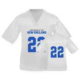 Youth Replica White Football Jersey-#22