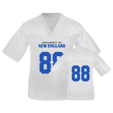 Youth Replica White Football Jersey-#88