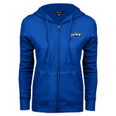 ENZA Ladies Royal Fleece Full Zip Hoodie-UNE Nor Easters