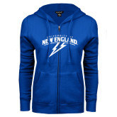 ENZA Ladies Royal Fleece Full Zip Hoodie-University of New England