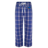 Royal/White Flannel Pajama Pant-Cloud