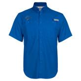 Columbia Bonehead Royal Short Sleeve Shirt-Cloud