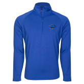 Sport Wick Stretch Royal 1/2 Zip Pullover-Cloud