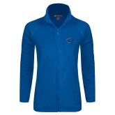 Ladies Fleece Full Zip Royal Jacket-Cloud
