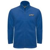 Fleece Full Zip Royal Jacket-UNE Nor Easters