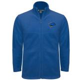 Fleece Full Zip Royal Jacket-Cloud