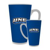 Full Color Latte Mug 17oz-UNE Nor Easters