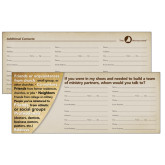 Referral Card 25/pkg-