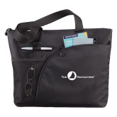 Excel Black Sport Utility Tote-The Navigators