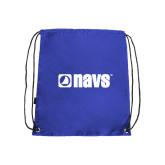 Royal Drawstring Backpack-NAVS