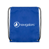 Royal Drawstring Backpack-Navigators