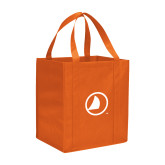 Non Woven Orange Grocery Tote-Sail Icon