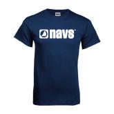 Navy T Shirt-NAVS