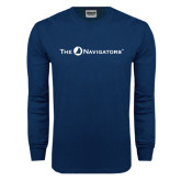 Navy Long Sleeve T Shirt-The Navigators