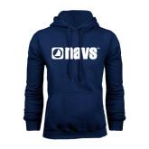 Navy Fleece Hoodie-NAVS