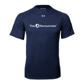 Under Armour Navy Tech Tee-The Navigators