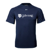 Under Armour Navy Tech Tee-Glen Eyrie - Flat