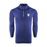 Under Armour Navy Tech 1/4 Zip Performance Shirt-Glen Eyrie