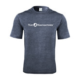 Performance Navy Heather Contender Tee-The Navigators
