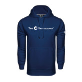 Under Armour Navy Performance Sweats Team Hoodie-The Navigators