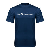 Syntrel Performance Navy Tee-The Navigators