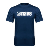 Syntrel Performance Navy Tee-NAVS