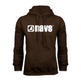 Brown Fleece Hoodie-NAVS