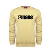 Champion Vegas Gold Fleece Crew-NAVS