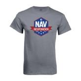 Charcoal T Shirt-NAV Responder