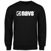 Black Fleece Crew-NAVS