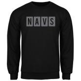 Black Fleece Crew-NAVS Block Reverse