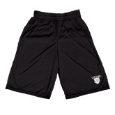 Midcourt Performance Black 9 Inch Game Short-Glen Eyrie
