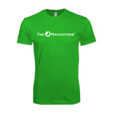 Next Level SoftStyle Kelly Green T Shirt-The Navigators